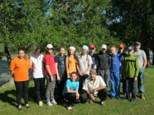 участники похода